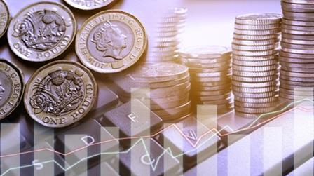 Sterling moves on up